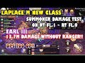 LAPLACE M(SEA) - SUMMONER REVELATION TRAILS FL.1 ~ FL.9 DAMAGE TEST!! 13.7M DAMAGE WITHOUT RANGER?!!