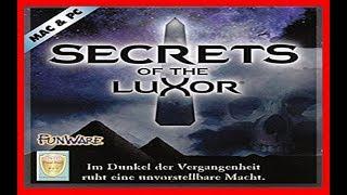 "Secrets of the Luxor 1996 PC ""Deutsch/German"""