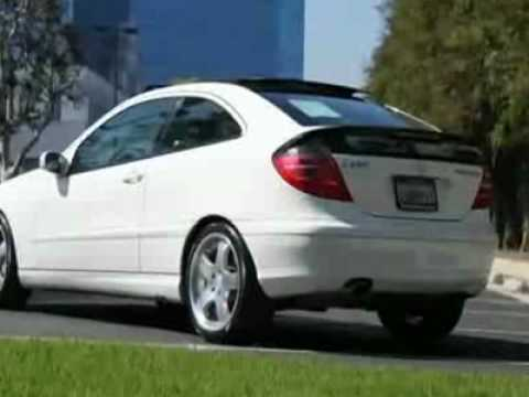 2002 mercedes benz c class c230 coupe youtube. Black Bedroom Furniture Sets. Home Design Ideas