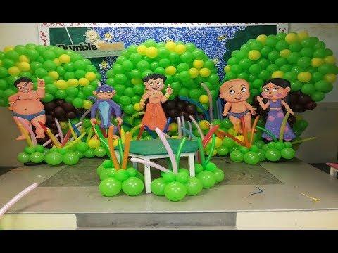 Chota Bheem Theme Birthday Party Organisers Youtube