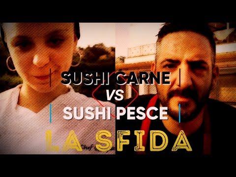 """BOX 32 """"LA SFIDA Sushi Carne VS Sushi Tradizionale"""" -Video Evento-"""