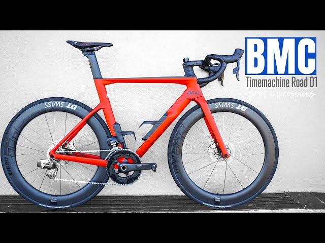 The Ferrari of Road Bikes? (BMC Timemachine Road, first impressions)