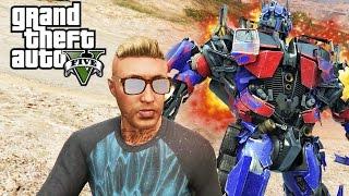GTA V - Random Moments 13 (Optimus Prime!)