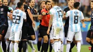 Fight between Argentina vs Croatia 2018 match
