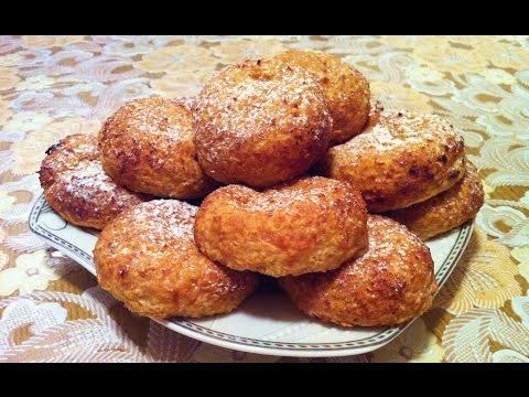 Фитнес Печенье/Творожно-Овсяное Печенье/Простой Рецепт(Очень Вкусно и Полезно)