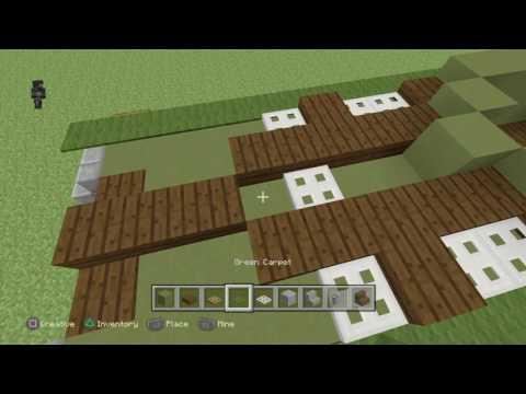Minecraft T29 heavy tank tutorial
