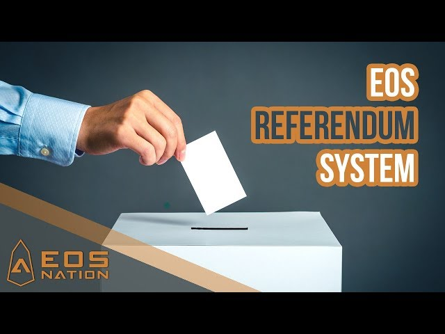 EOS Referendum System Demonstration (beta)