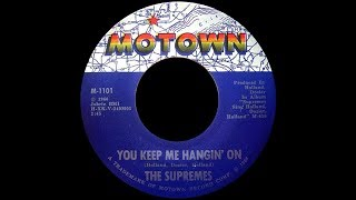 The Supremes ~ You Keep Me Hangin' On 1966 Soul Purrfection Version
