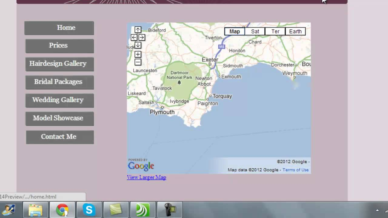 how to include google map in website