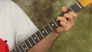 How to Play Crazy Train on Guitar - pt 2 - Ozzy Osbourne - Randy Rhoads - rhythm part
