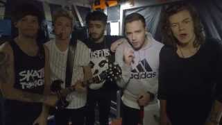 One Direction ¡graba nuevo videoclip! BRAVO | On The Road Again Tour