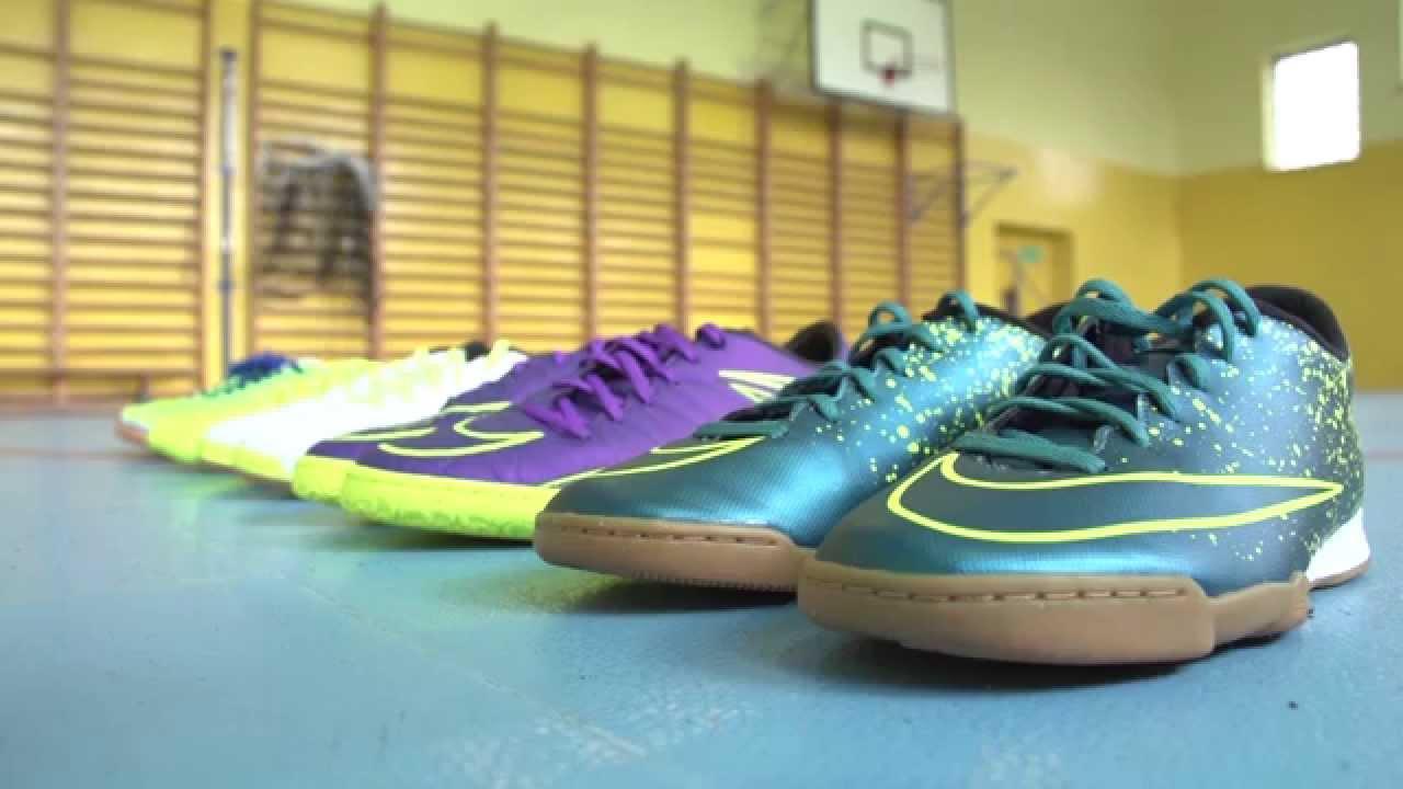 b1825ec86 Nike Joma czy adidas? Maciej Murawski testuje halówki - YouTube