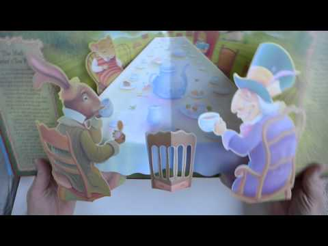 """Alice in Wonderland"" A Classic Story 3D Pop-Up Book with Sounds by Lewis Carroll & Richard Johnson"