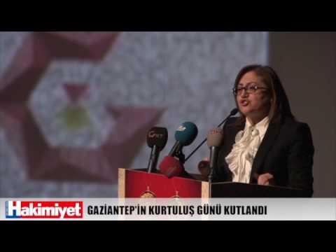 GAZİANTEP'İN KURTULUŞ GÜNÜ KUTLANDI