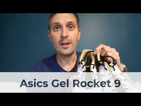 Review: Asics Gel Rocket 9