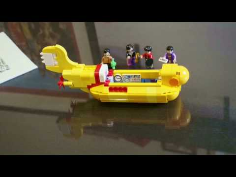 The Bits: Building The Beatles Lego Yellow Submarine (stop motion video)