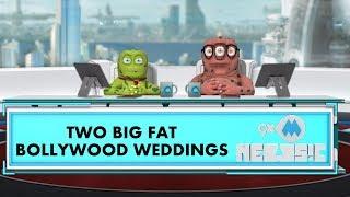 9XM Newsic | Two Big Bollywood Weddings | Bade | Chote