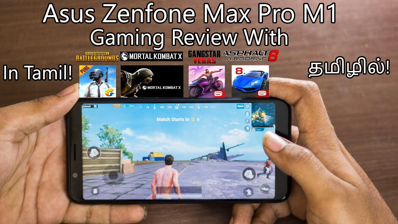 Asus Zenfone Max Pro M1 Gaming Review With Pubg, Mortal