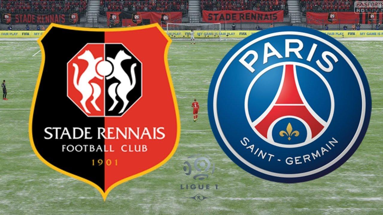 Ligue  Rennes Vs Psg  Fifa