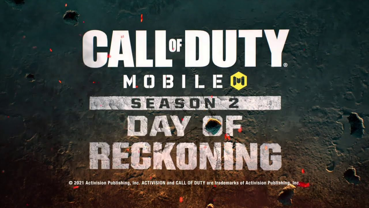 Call of Duty®: Mobile Announcing Season 2: Day of Reckoning