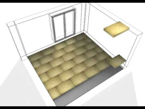 structura isolation des planchers en laine de roche youtube. Black Bedroom Furniture Sets. Home Design Ideas