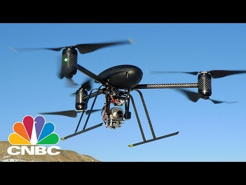 This Drone Attacks And Captures Rogue Drones | CNBC
