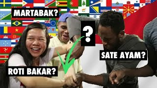 FOREIGNERS TRY INDONESIAN STREET FOOD (PART 2)