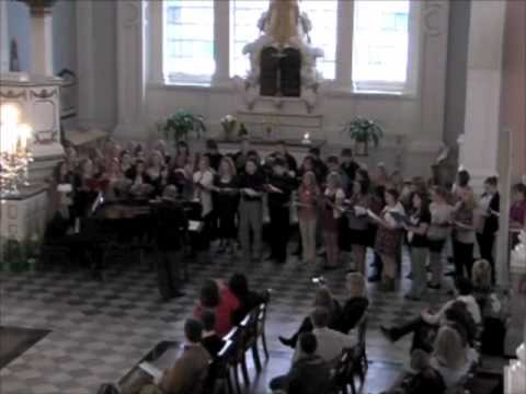 Lincoln Way Central Choir performs at St. Paul's Chapel in New York pt 1.m4v