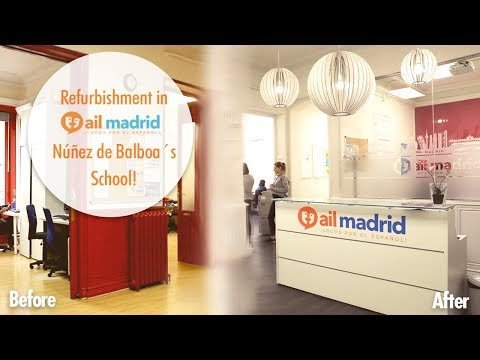 Refurbishment of AIL Madrid´s Núñez de Balboa School