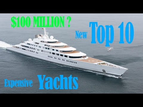 Top 10 MOST EXPENSIVE YACHTS IN THE WORLD (2018 NEW)