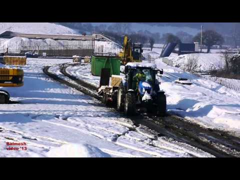 ByPass Snow - 2.  Case and New Holland Action.