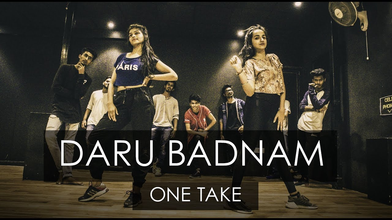 DARU BADNAAM | One Take | Tejas Dhoke Choreography | DanceFit Live