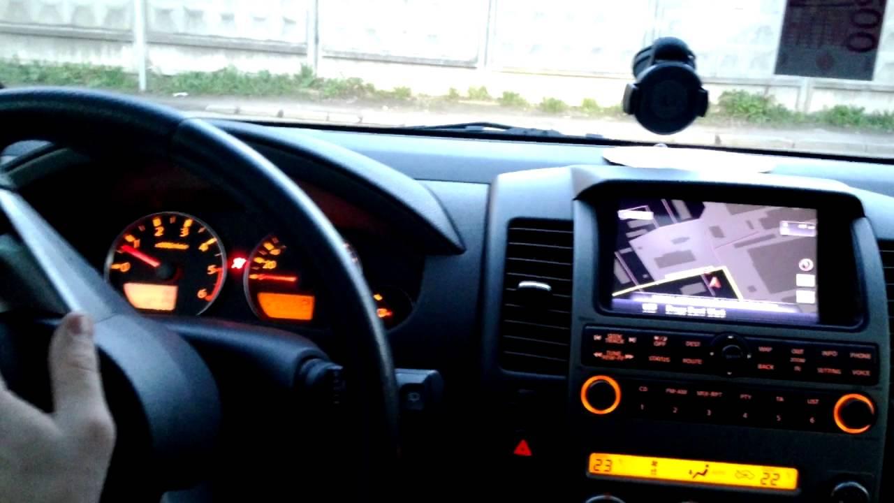 Nissan Pathfinder 51(2006-08)модификация штатного оборудования под .