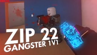 TROLL GUN GANGSTER 1V1 IN PHANTOM FORCES! (ROBLOX)