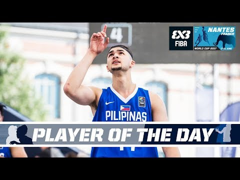 Get Kobe Paras (PHI) - Player of the Day - FIBA 3x3 World Cup 2017 Pictures