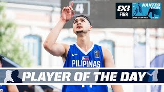 Kobe Paras (PHI) - Player of the Day - FIBA 3x3 World Cup 2017