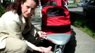 Pet Gear AT3 All Terrain Dog Stroller Review - Two Thumbs Way Up