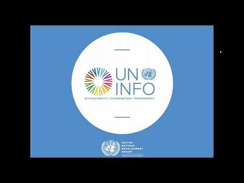 UN INFO Introduction Webinar