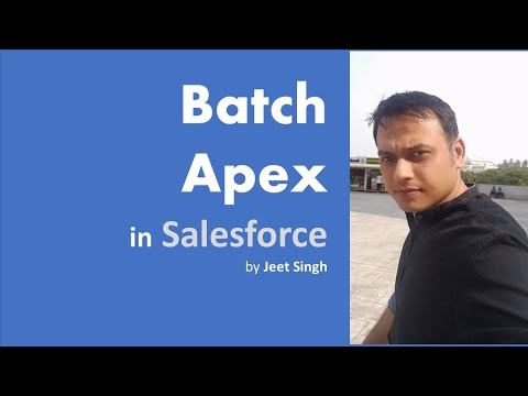 Batch Apex in Salesforce | Concepts to Example | by Jeet Singh