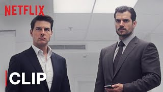 Bathroom Fight Scene | Tom Cruise & Henry Cavill | Mission: Impossible- Fallout | Netflix India