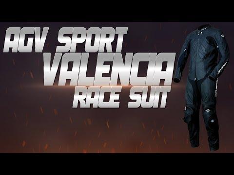 AGV Sport Valencia One Piece Race Suit Review from SportbikeTrackGear.com