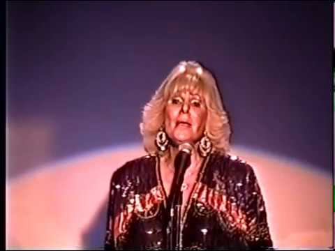 India Adams--Voice of Joan Crawford, Cyd Charisse--1991 Live Performance