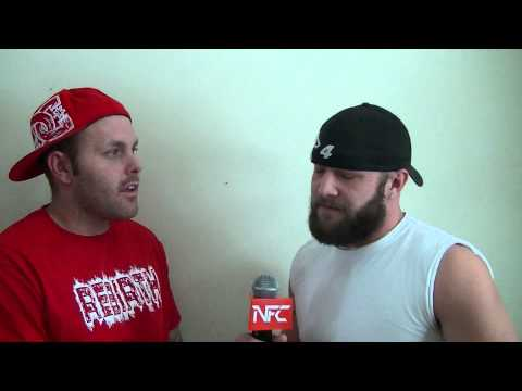 NFC 11 pre-fight interview with Chris big beard Lee