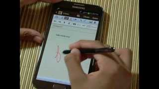 Samsung Galaxy Note II / 2: S-Pen Review and Features