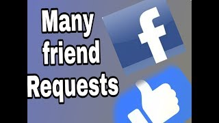Many friends requests on Facebook in easy step | rtech solutions |