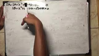 Tugas matematika peminatan ammar