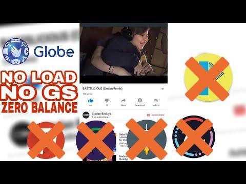 Globe No Load No GS + Free Calls and Text: May 2018