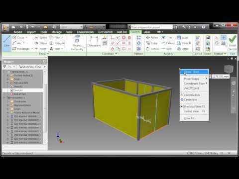 Autodesk Inventor Frame Generator Part 1 Doovi
