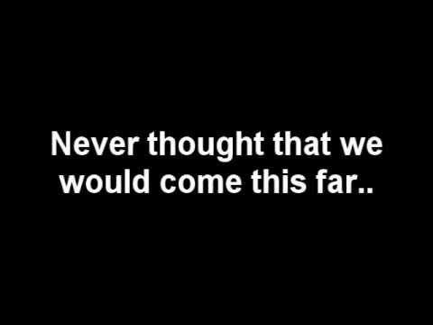 A Day To Remember - If I Leave [LYRICS]