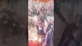 Viral pengantin Priya di punji penyanyi